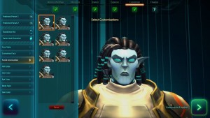 Wildstar character customization