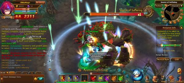 clash of avatars boss fight