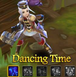 Dancing in Clash of Avatars