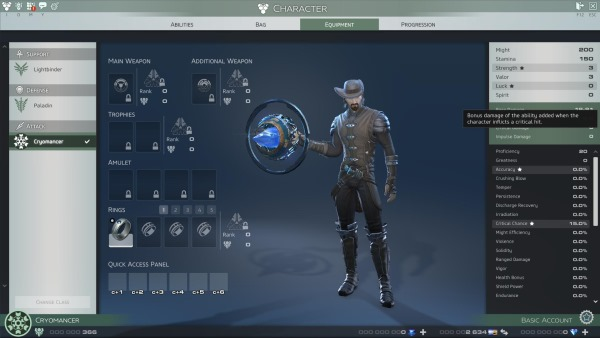skyforge character