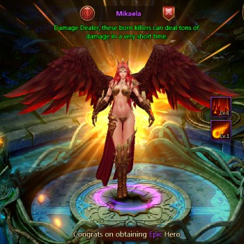 league of angels ii epic hero