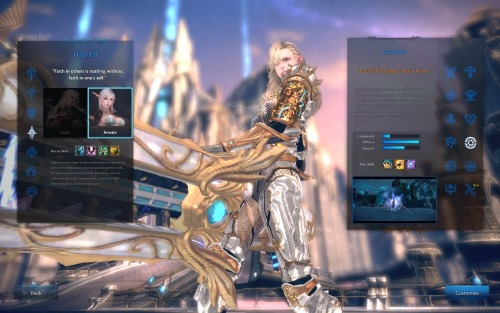 tera review - character creation