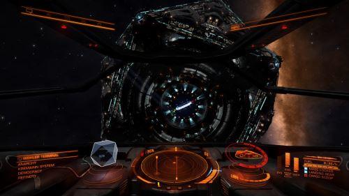 Elite Dangerous Oculus Rift VRMMORPG