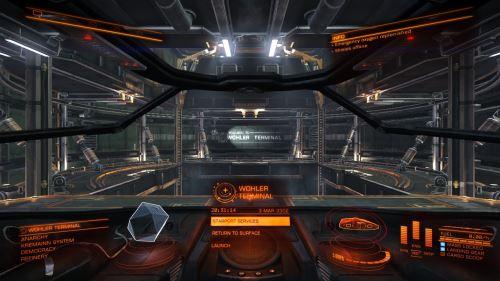 Elite Dangerous space MMO