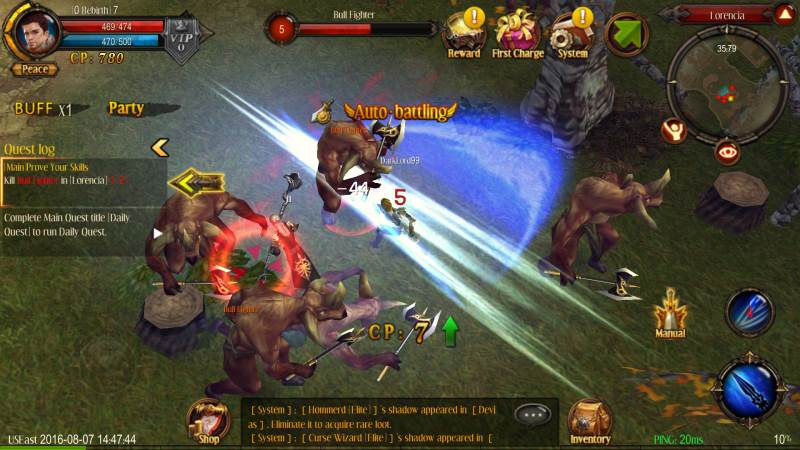 Mu Origin mobile MMORPG