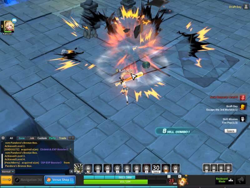 Herowarz combat review