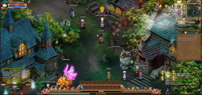 Crystal Saga 2 screenshot