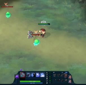 Crush Online screenshot - combat