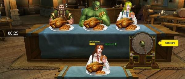 Banquet Minigame